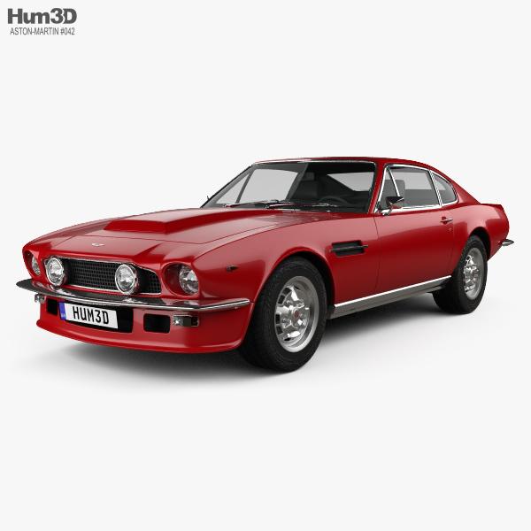 Aston Martin V8 Vantage 1972 3D model