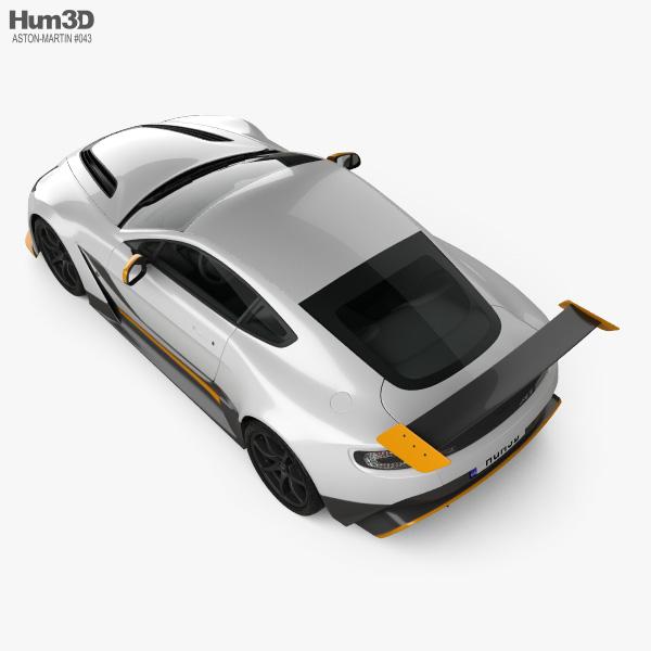 Aston Martin V12 Vantage GT3 2015 3D model