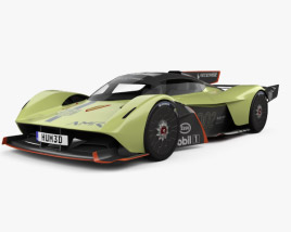 3D model of Aston Martin Valkyrie AMR Pro 2020