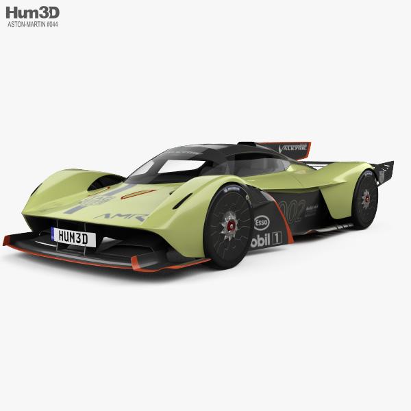 Aston Martin Valkyrie AMR Pro 2020 3D model