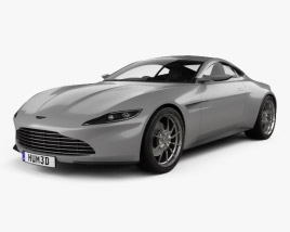 3D model of Aston Martin DB10 with HQ interior 2015