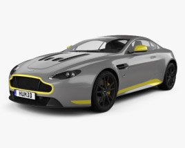 3D model of Aston Martin V12 Vantage S Sport-Plus 2016