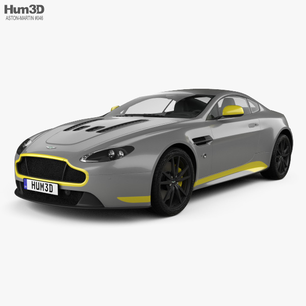Aston Martin V12 Vantage S Sport-Plus 2016 3D model