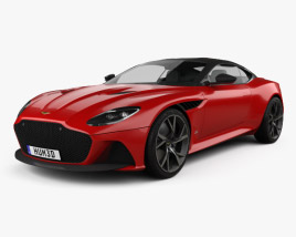 Aston Martin DBS Superleggera 2019 3D model