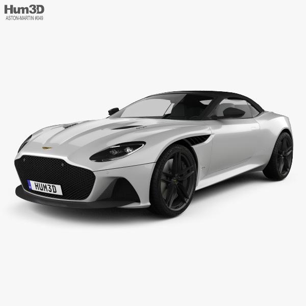 Aston Martin DBS Superleggera Volante 2020 3D model