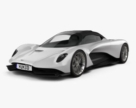 3D model of Aston Martin Valhalla 2020