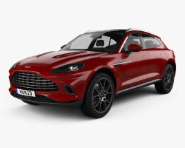 3D model of Aston Martin DBX 2021