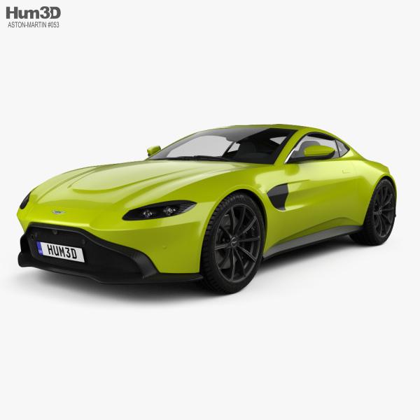 Aston Martin Vantage coupe 2018 3D model