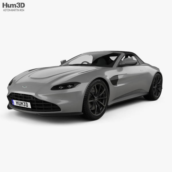 Aston Martin Vantage Roadster 2020 3D model