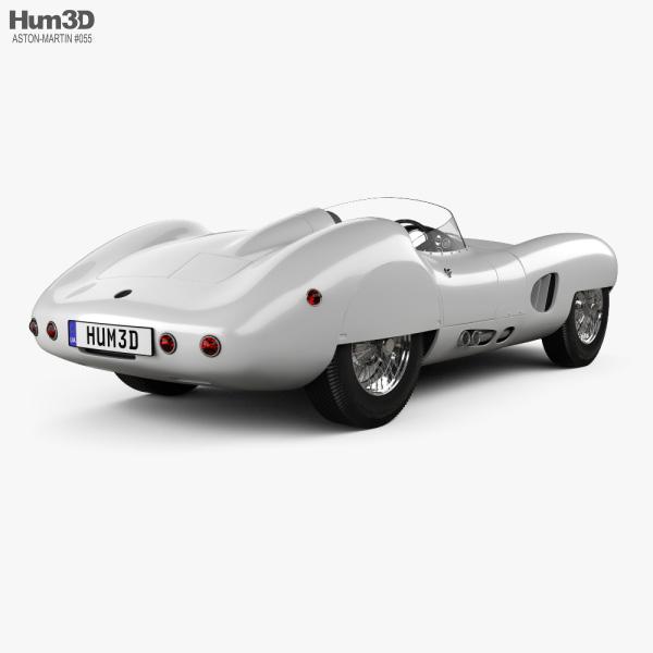 Aston Martin DBR1 LeMans 1959 3D model