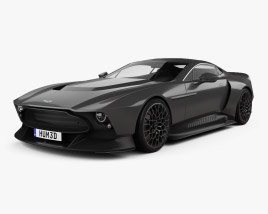 3D model of Aston Martin Victor 2020