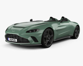 Aston Martin V12 Speedster 2021 3D model