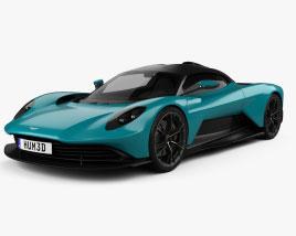 Aston Martin Valhalla 2022 Modello 3D