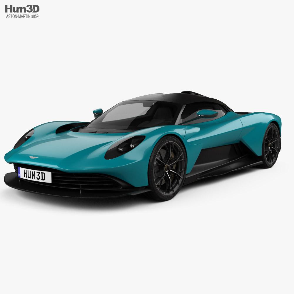 Aston Martin Valhalla 2022 3d model