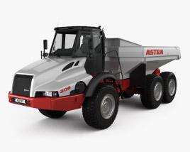 3D model of Astra ADT 30D Dump Truck 2000