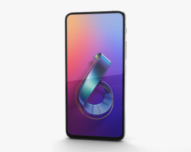 Asus Zenfone 6 (2019) Twilight Silver 3D model