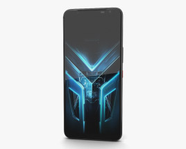 3D model of Asus ROG Phone 3 Black Glare