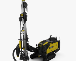 3D model of Atlas-Copco D65 Drill Rig 2009
