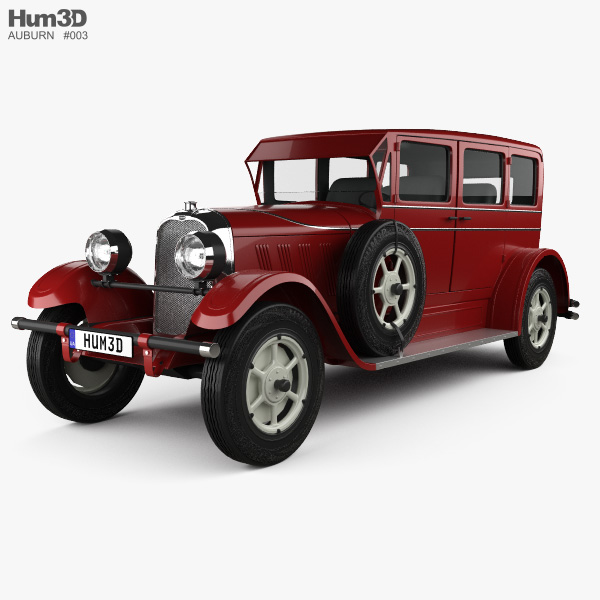 Auburn 8-88 1928 3D model