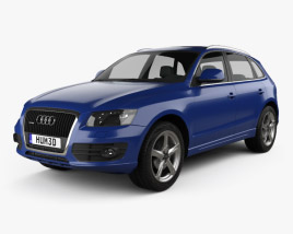 3D model of Audi Q5 2009