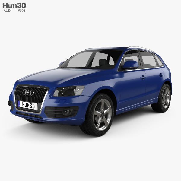 Audi Q5 2009 3D model