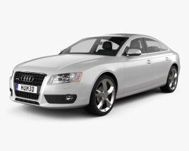 3D model of Audi A5 Sportback 2010