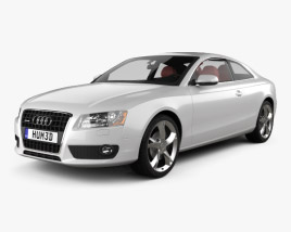 3D model of Audi A5 Coupe 2010