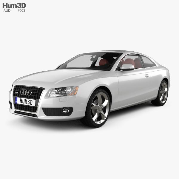 Audi A5 Coupe 2010 3D model