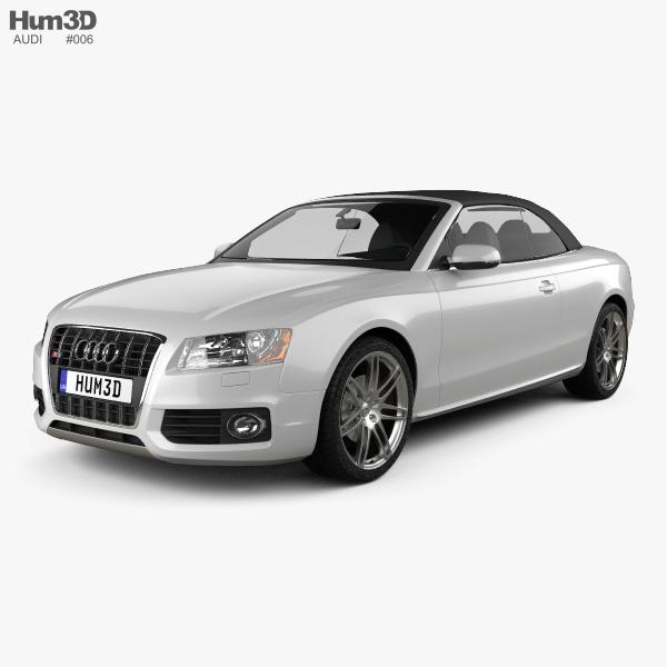 3D model of Audi S5 Convertible 2010