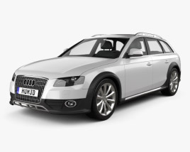 3D model of Audi A4 Allroad Quattro 2010