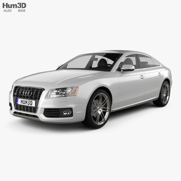3D model of Audi S5 Sportback 2011