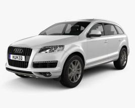 3D model of Audi Q7 2010