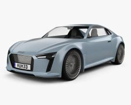 3D model of Audi e-tron 2010