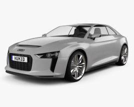 3D model of Audi Quattro 2012
