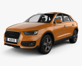 3D model of Audi Q3 2011
