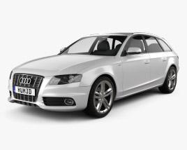 3D model of Audi S4 Avant 2011