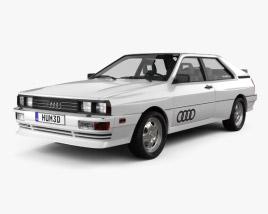3D model of Audi Quattro 1980