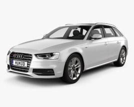Audi S4 Avant 2013 3D model