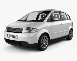 3D model of Audi A2 2005