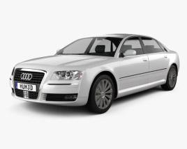 3D model of Audi A8 2009