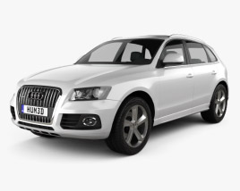 3D model of Audi Q5 2013