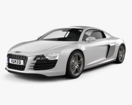 3D model of Audi R8 Coupe 2013
