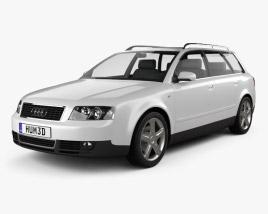 3D model of Audi A4 (B6) avant 2002