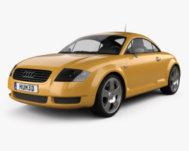3D model of Audi TT Coupe (8N) 2003