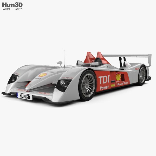 Audi R10 TDI 2006 3D model