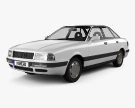 3D model of Audi 80 (B4) 1991