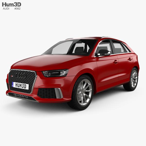 3D model of Audi RS Q3 2013