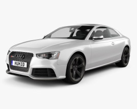 3D model of Audi RS5 coupe 2012