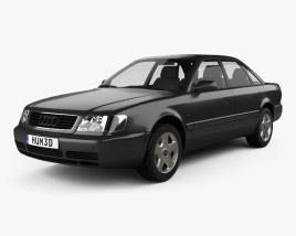 3D model of Audi A6 (C4) sedan 1994