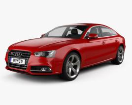 3D model of Audi S5 sportback 2012
